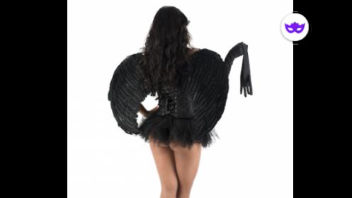 Disfraz Angel Ruth Negro