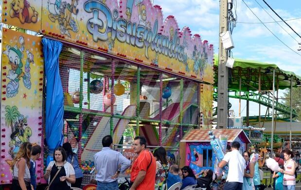 5 tickets para atracciones de Carnaval