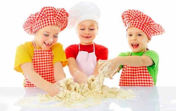 Bono de 4 clases de cocina para niños