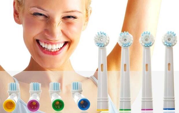 8 recambios compatibles Oral B