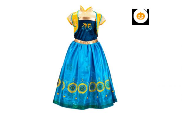 Disfraz princesa Ana Frozen Fever