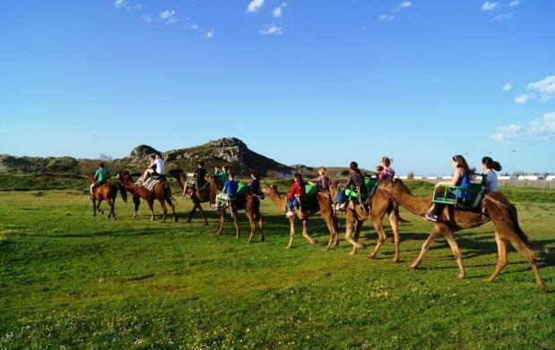 Safari Aventura con ruta en dromedario