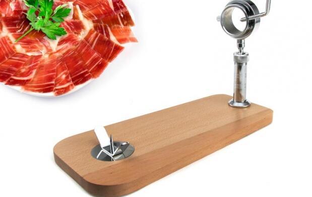 Lo mejor para un buen corte de jamón