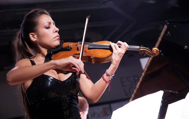Disfruta del violín de Leticia Moreno