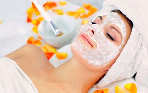 Higiene facial con mascarilla Geisha