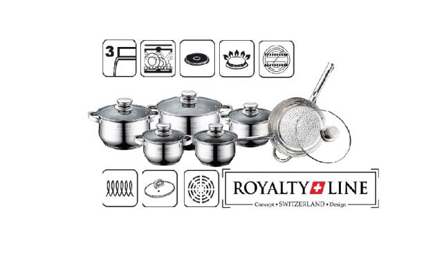 Batería de cocina 12 piezas Royalty Line
