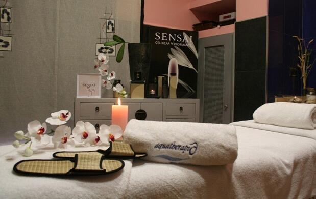 Circuito termal y masaje relajante para 2