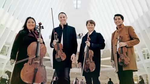 Concierto del Cuarteto Calidore y Cristina Gómez Godoy en el Liceo