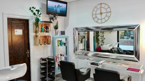 Sesión de peluquería de auténtico lujo
