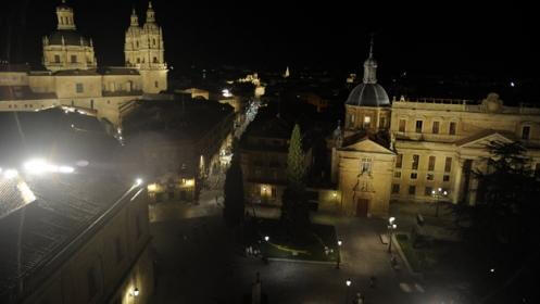 Visita nocturna de cuentos y leyendas de la Salamanca iluminada