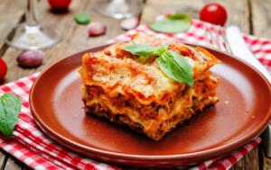 Impresionante menú italiano para 2