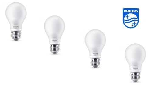 Pack de 4 Bombilla LED Classic Philips