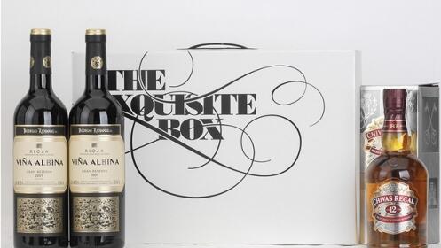 1 botella de Whisky Chival Regal+2 botellas de Vino Tinto Rioja