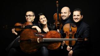 Cuarteto Quiroga en concierto