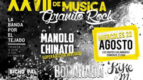 Entradas con autobús para el XXVII Festival de Música Granito Rock