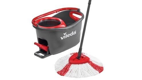 Set de fregona giratoria Vileda Easy Wring & Clean Turbo