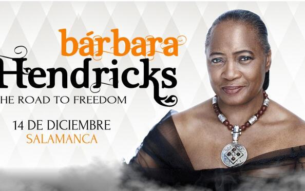 Entradas para el concierto de Bárbara Hendricks The road to freedom