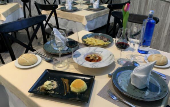 Menú para 2 en La Jara