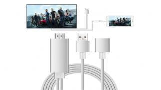 Adaptador de HDMI para iPhone y iPad