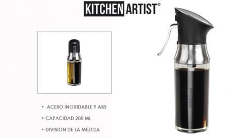 Aceiteras Kitchen Artist  Infusor o Spray