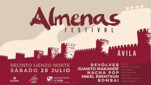 Revólver, Nacha Pop, Erentxun... en el Almenas Festival