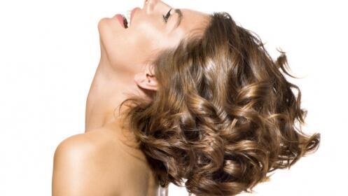 Lavado, aceite de argán vitaminado, corte y peinado