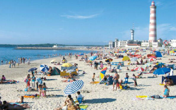 Domingo 8 de julio en la playa: Aveiro