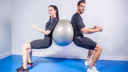 Tres sesiones de electroestimulación combinada con fitness