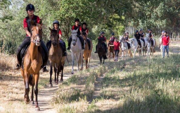 Ruta a caballo a orillas del Tormes