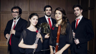 Concierto del quinteto de viento Azahar Ensemble en el Liceo