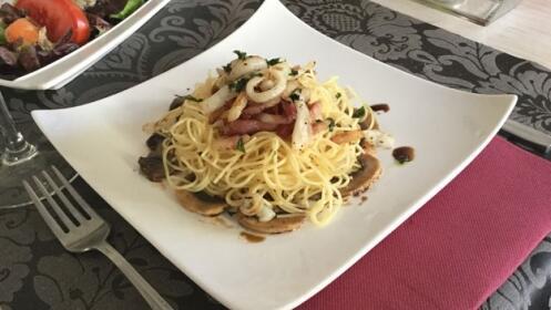 Delicioso menú para dos personas
