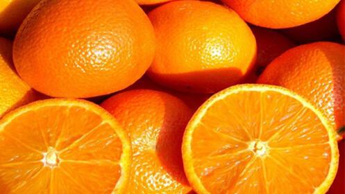 Caja de naranjas valencianas