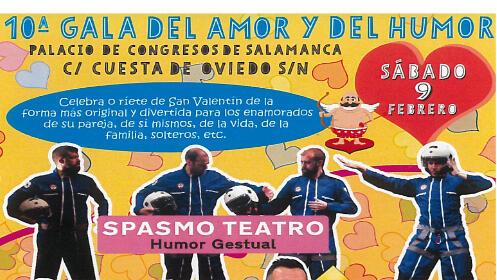 """Entradas para la 10ª edición """"Gala del Amor y del Humor"""""""