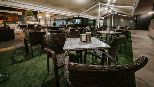 Magnífico menú en terraza para 2 personas