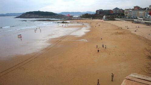 Domingo 26 de agosto en la playa: Santander