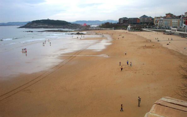 Domingo 1 de julio en la playa: Santander