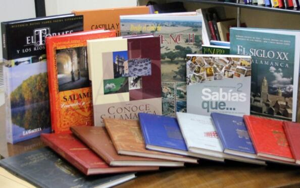 Compra o regala un libro sobre temas salmantinos