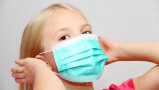 Pack 50 mascarillas higiénicas infantiles con certificado