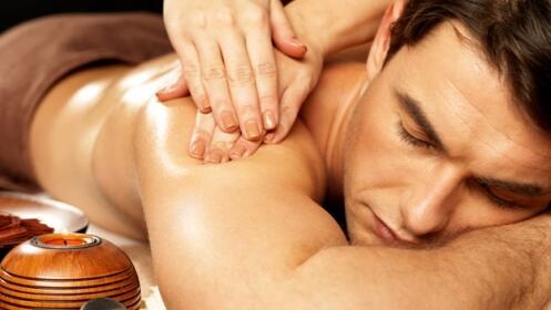 Regala a papá dos masajes completos antiestrés