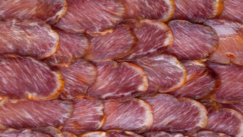 Pack de 5 sobres envasados de Lomo de Guijuelo