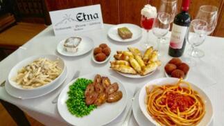 Delicioso menú siciliano para dos personas