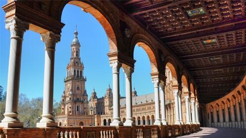 Sevilla: 1 a 3 noches en habitación doble + parking + café o zumo