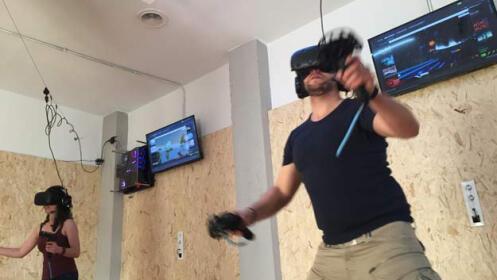 Disfruta de una experiencia de realidad virtual