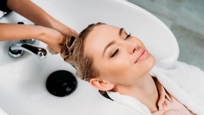 Lavado, tratamiento de keratina, corte y peinado