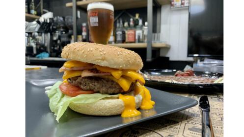Menú para dos con hamburguesa Premium
