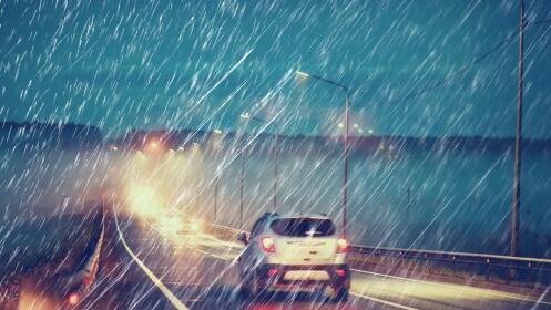 Repelente de lluvia para tu coche