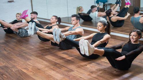 Bono 4 clases a elegir: pilates, yoga, hipopresivos, estiramientos o jumpilates