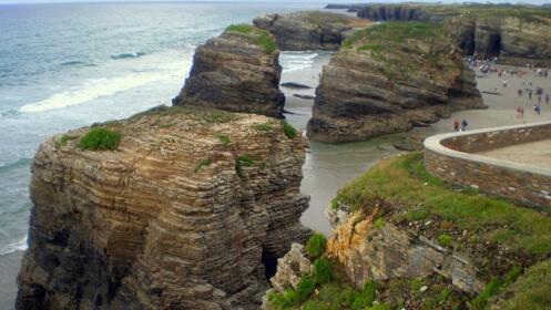 playa de las catedrales salamanca
